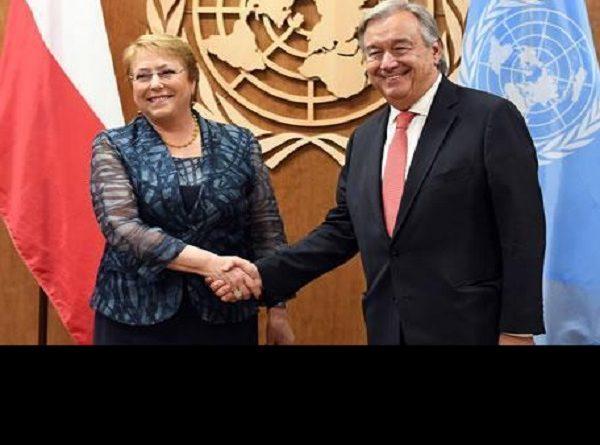 Michelle Bachelet segnala le tensioni ma non suggerisce le soluzioni